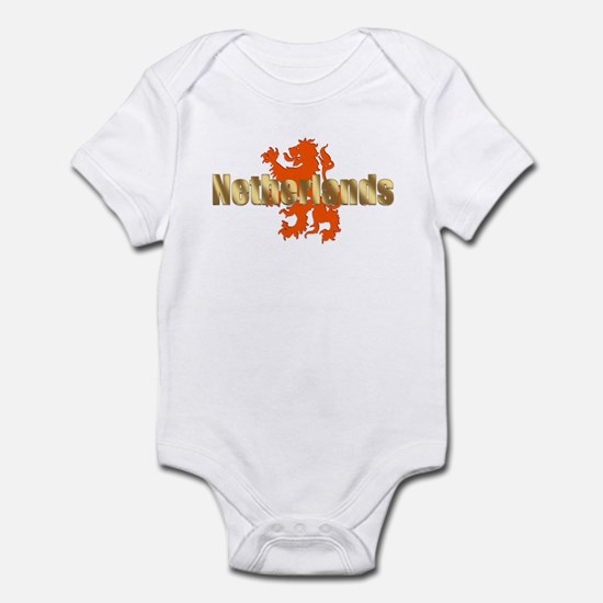Netherlands Orange Lion Infant Bodysuit