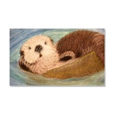 Sea Otter--Endangered Species Car Magnet 20 x 12