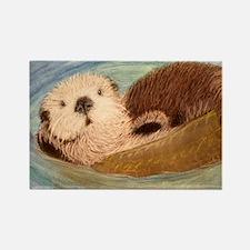 Sea Otter--Endangered Species Rectangle Magnet