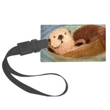 Sea Otter--Endangered Species Luggage Tag