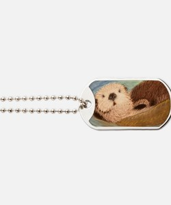 Sea Otter--Endangered Species Dog Tags