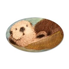 Sea Otter--Endangered Specie Wall Decal
