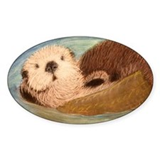 Sea Otter--Endangered Species Decal