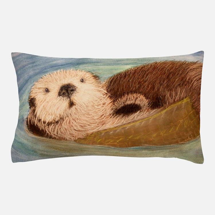 Sea Otter--Endangered Species Pillow Case