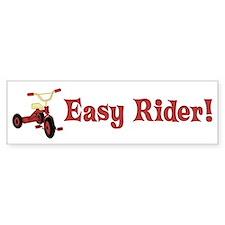 Easy Rider Bumper Car Sticker