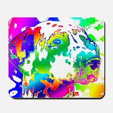 Dalmatian--Abstract Color Design Mousepad