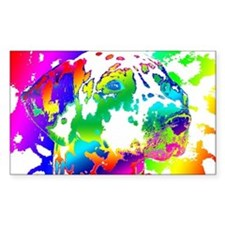 Dalmatian--Abstract Color Desi Decal