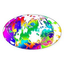 Dalmatian--Abstract Color Design Decal
