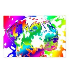Dalmatian--Abstract Color Postcards (Package of 8)