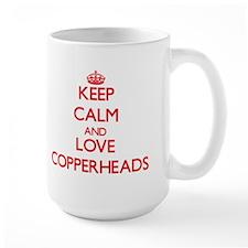 Keep calm and love Copperheads Mugs