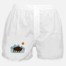Buffalo Mountains Boxer Shorts