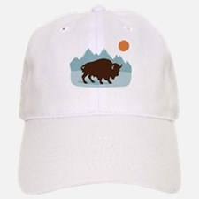 Buffalo Mountains Baseball Baseball Baseball Cap