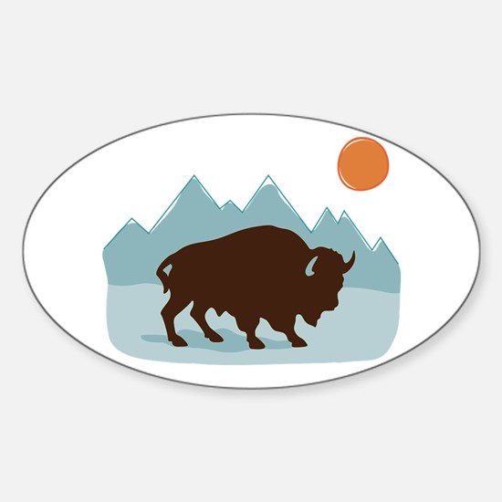 Buffalo Mountains Decal