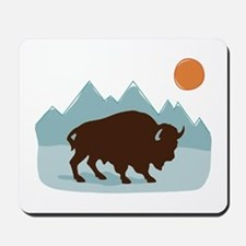 Buffalo Mountains Mousepad