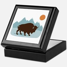 Buffalo Mountains Keepsake Box