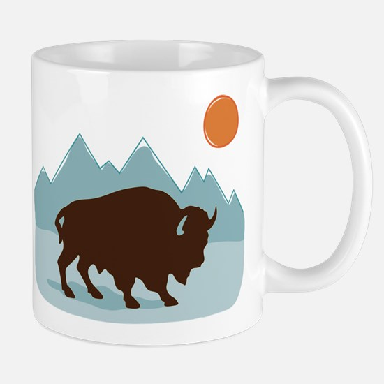 Buffalo Mountains Mugs