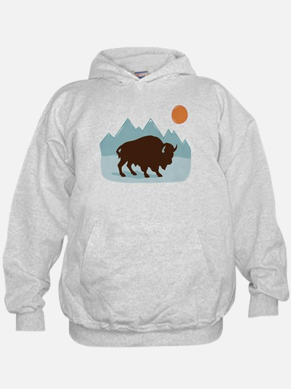 Buffalo Mountains Hoodie