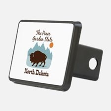 The Peace Garden State North Dakota Hitch Cover