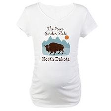 The Peace Garden State North Dakota Shirt