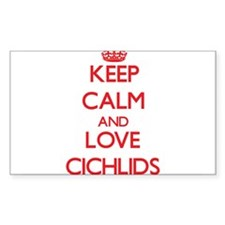 Keep calm and love Cichlids Decal