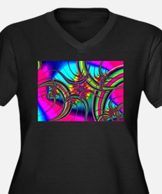 Fabulous Fractal Plus Size T-Shirt