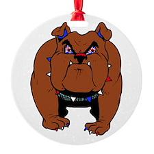 British Bulldog Ornament