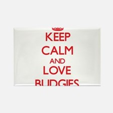Keep calm and love Budgies Magnets