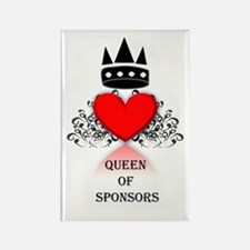 Queen Of Sponsors Magnet