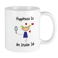 Happiness Is An Inside Job Small Mug