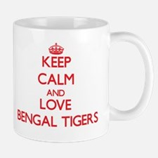 Keep calm and love Bengal Tigers Mugs