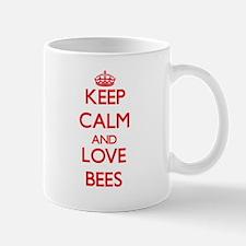 Keep calm and love Bees Mugs