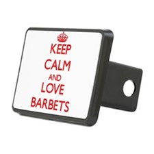 Keep calm and love Barbets Hitch Cover
