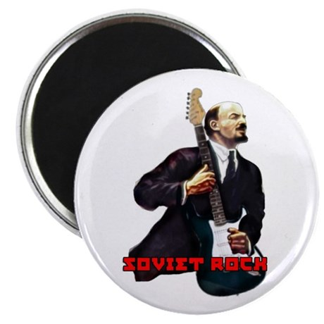 "Soviet rock 2.25"" Magnet (10 pack)"