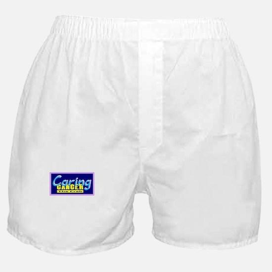 Cancer-One Word Description Boxer Shorts