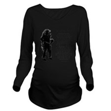 A Miners Wife Long Sleeve Maternity T-Shirt