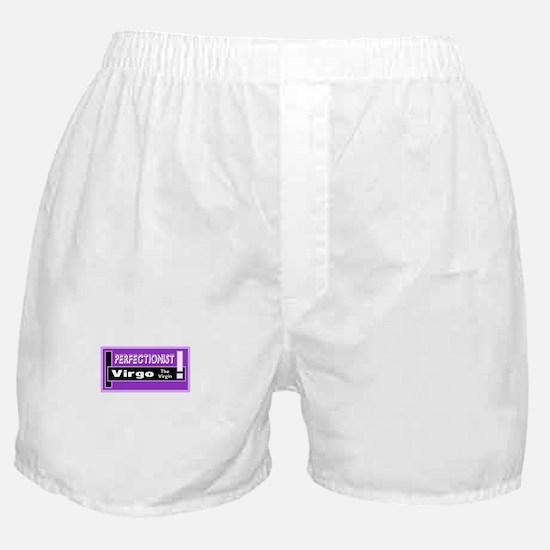 Virgo-One Word Description Boxer Shorts