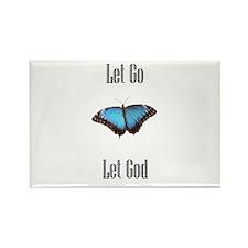 Let Go Let God Magnet