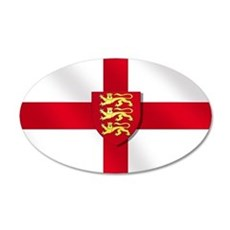 England Three Lions Flag Wall Decal