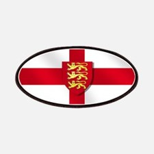 England 3 Lions Flag Patches