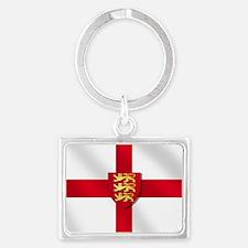 England 3 Lions Flag Keychains