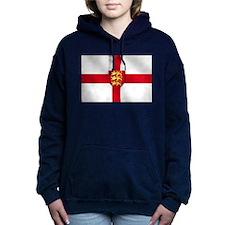 England 3 Lions Flag Hooded Sweatshirt