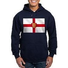 England Three Lions Flag Hoodie