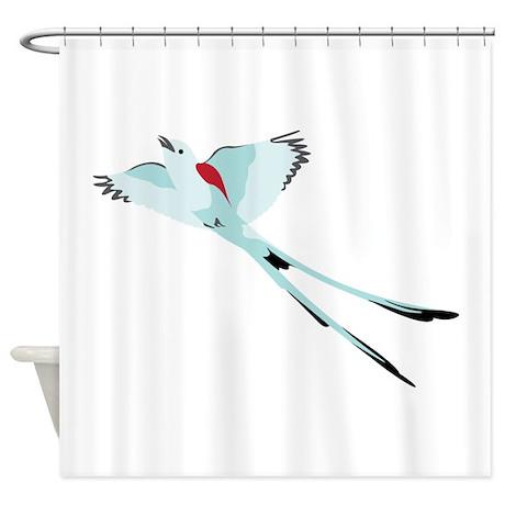 Scissortail Bird Shower Curtain By Hopscotch3