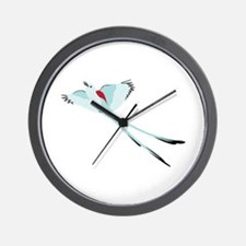 Scissortail Bird Wall Clock
