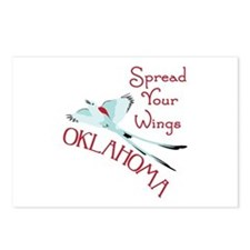 Spread Your Wings OKLAHOMA Postcards (Package of 8