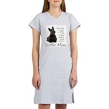 Scottie Mom Women's Nightshirt