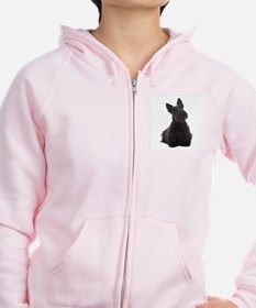 Scottie Mom Zip Hoodie
