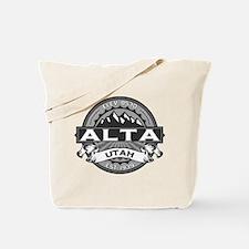 Alta Silver Tote Bag
