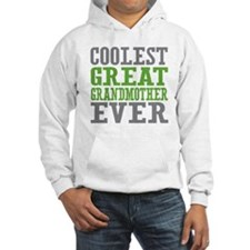Coolest Great Grandmother Ever Hoodie