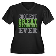 Coolest Great Grandmother Ever Women's Plus Size V